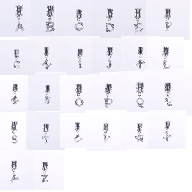 bracciale pandora ciondoli lettere
