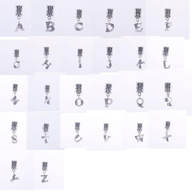 pandora lettera alfabeto
