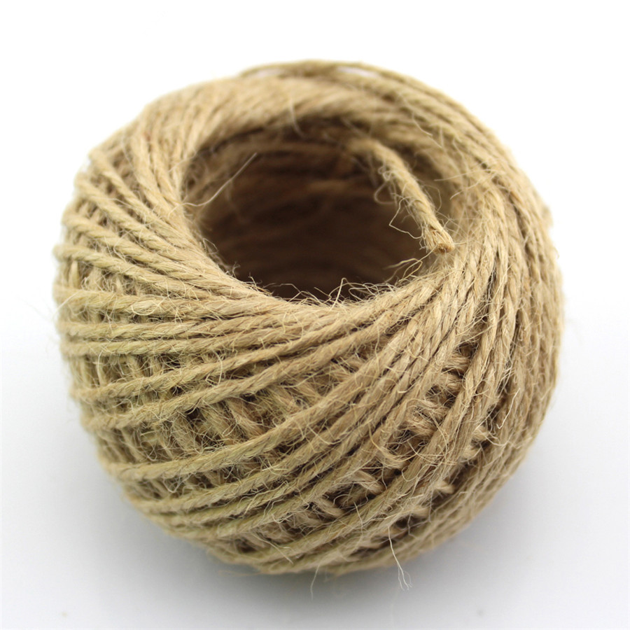 J481b 30m Hemp Rope Ball Diameter 1.5mm Three-ply Twine Cord Roll DIY Model Making Sell at a Loss France Spain 6 5ft diameter inflatable beach ball helium balloon for advertisement