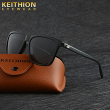 KEITHION Brand Unisex Aluminum Legs Square Mens Polarized Sun Glasses Fashion  Eyewears Accessories Sunglasses For Men