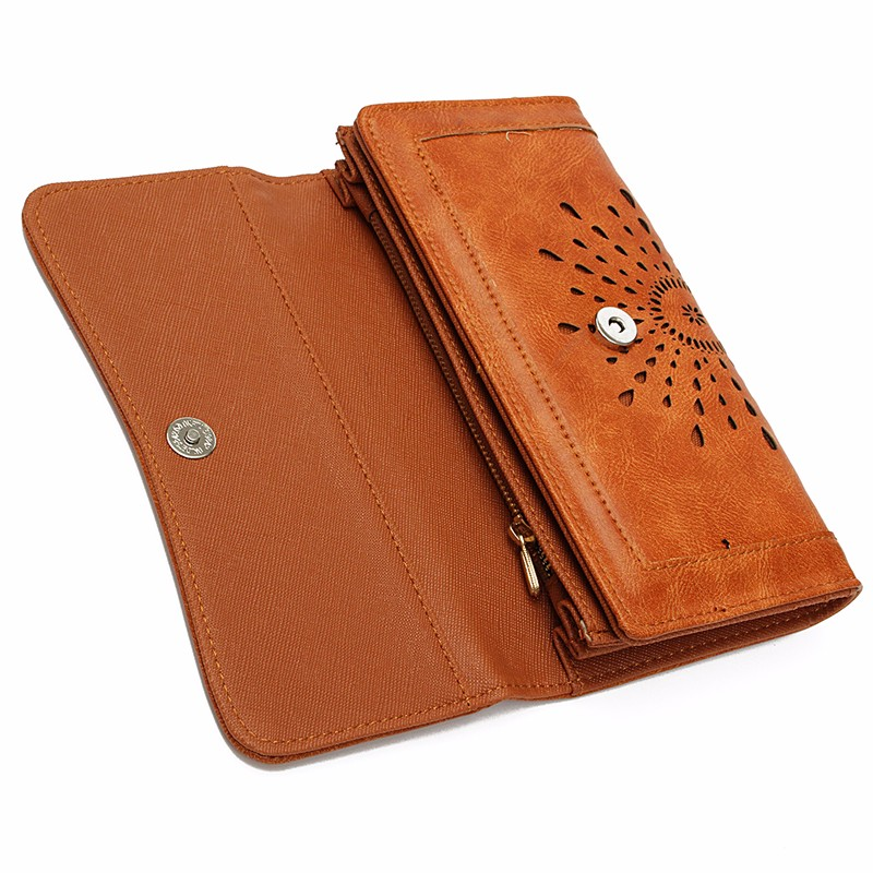 mulheres longas da bolsa da Key Word 2 : Floral Women's Wallet 3 Fold