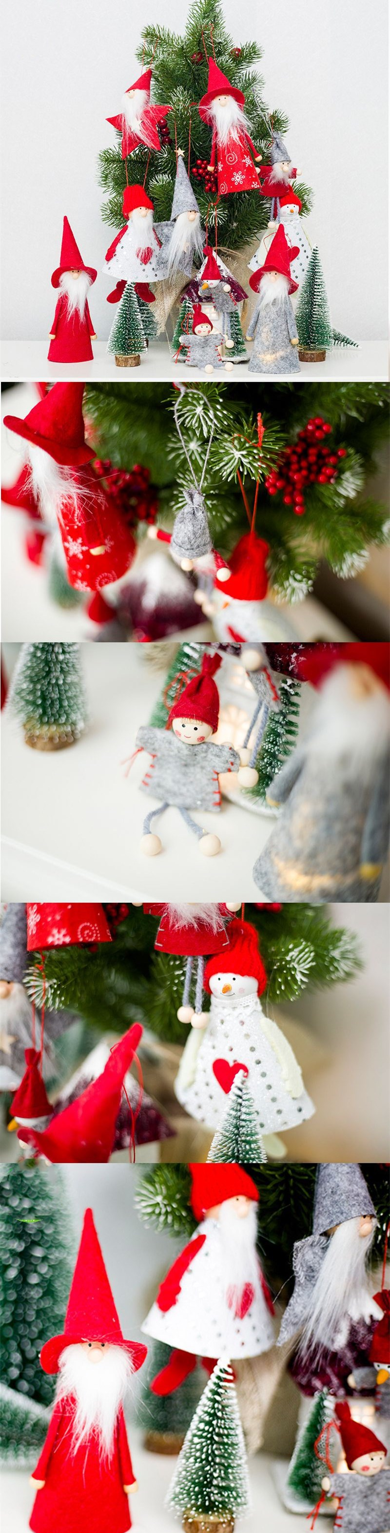 New Cute Angel Plush Doll Christmas Decoration Pendant Creative