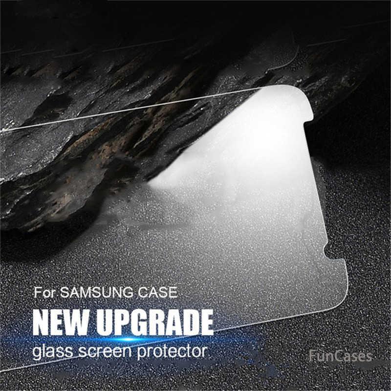 على بيع 9H 2.5D الزجاج المقسى لسامسونج غالاكسي A3 5 A7 A6 A8 زائد J2 J3 J5 J7 J4 J6 2017 2018 ترقية طبقة رقيقة واقية