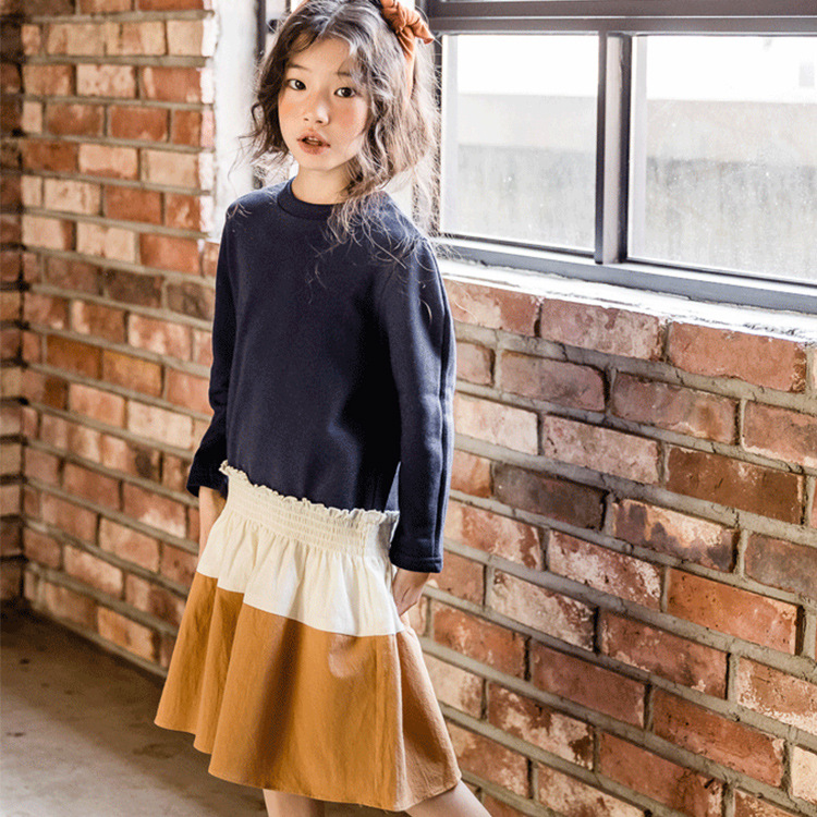 Kids Casual Dresses For Girls Autumn Dress Girl Holiday Dress Teen Clothes For Teenage Girls 6 7 8 9 10 11 12 13 14 Years Old