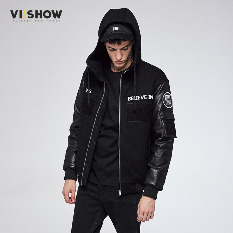 VIISHOW Mens Casual Parkas Solid Cotton Winter Jacket Men Hooded Thick Warm Padded Man Jaqueta Masculino Inverno MC2166174