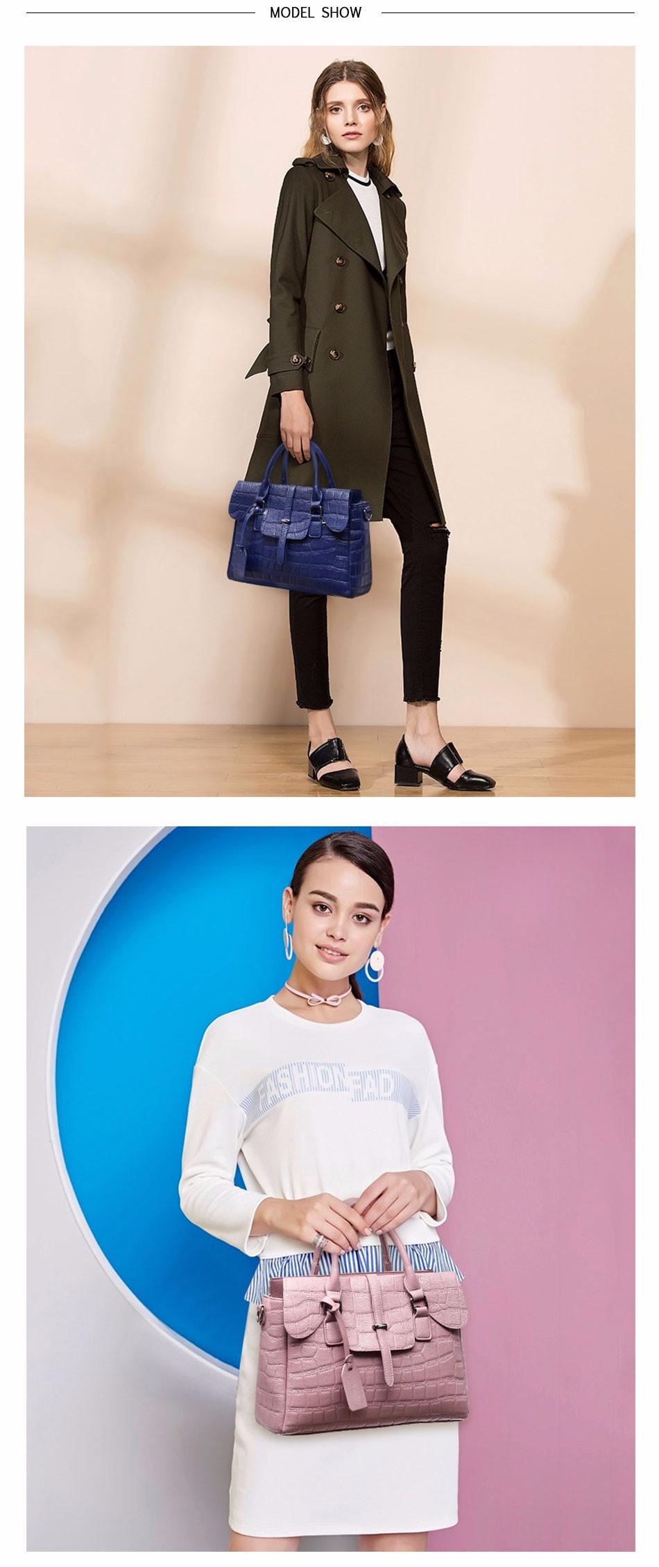 High Quality PU Leather Women's Handbags Shoulder Bag Ladies Hand Bags Stone Casual Women Bag Large Capacity Handbag 17 Sac 9