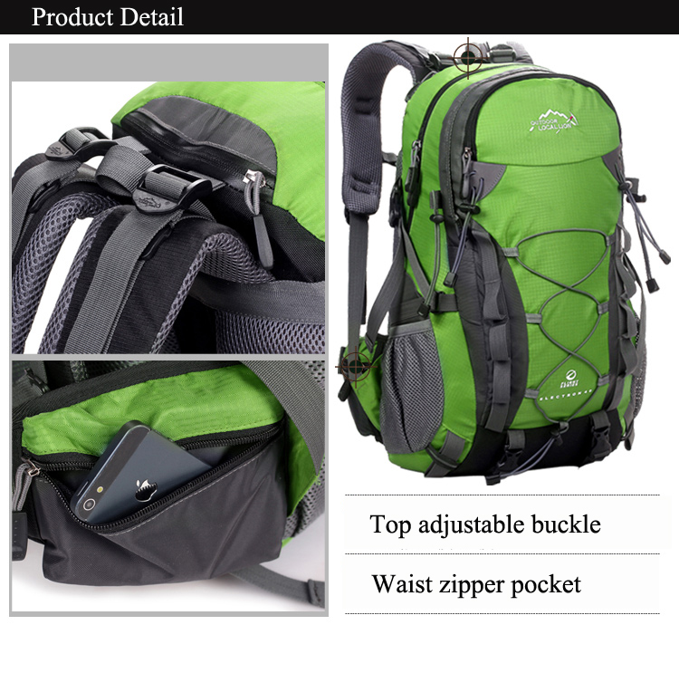 LOCAL LION Outdoor Waterproof Hiking Backpack 40L pic 8
