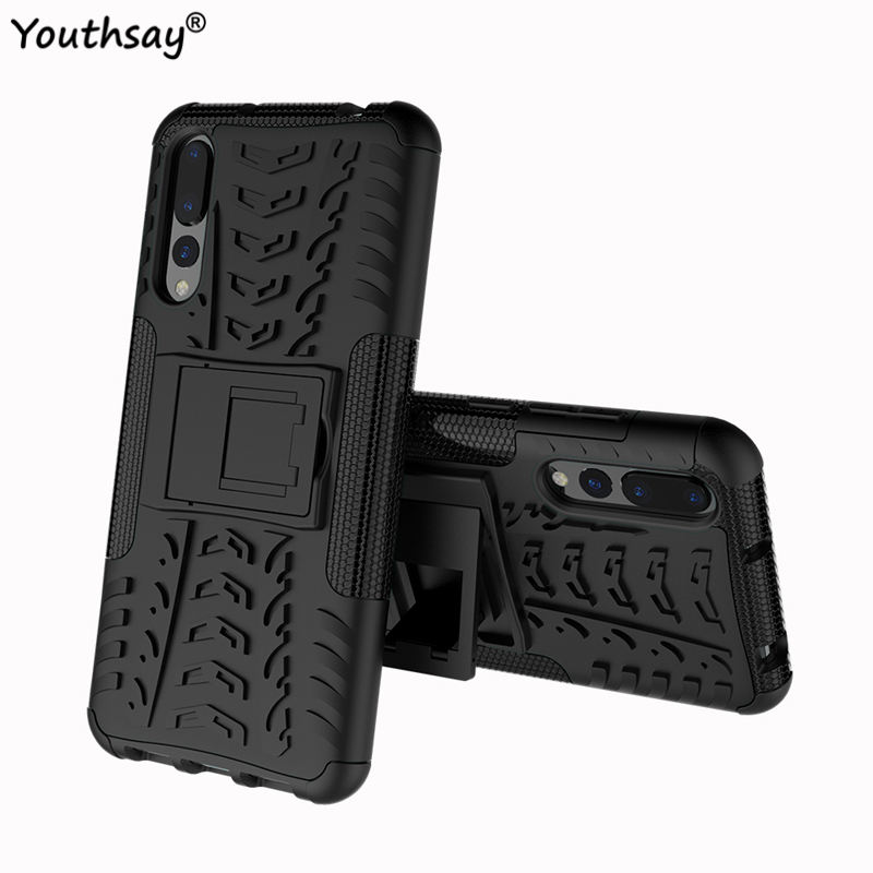 For Cover Huawei P20 Pro Case Hard PC Silicone Protetive Phone case