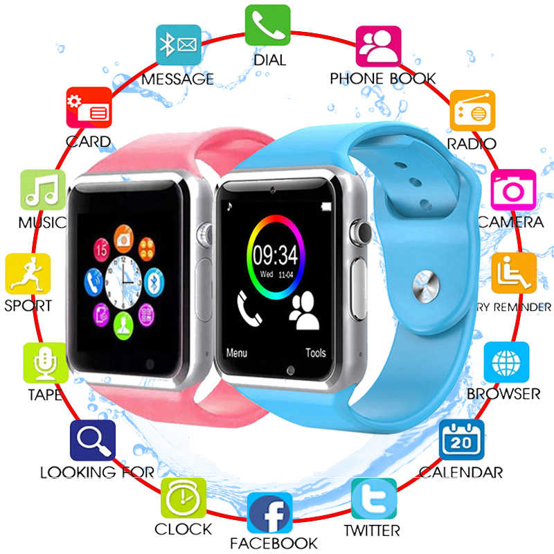 Smart Watch For Kids Children Baby Women Men Watch Phone 2G Sim Card Dail Call Touch Screen Waterproof Smart Clock Smartwatches