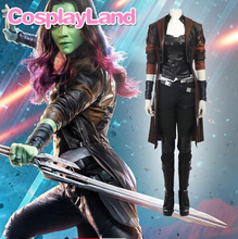 Guardians of the Galaxy 2 Gamora Cosplay Costume Superhero Halloween Costume for Adult Custom made Cosplay Gamora Costume Suit custom made fire emblem fates cosplay costume adult takumi cosplay costume halloween cosplay costume
