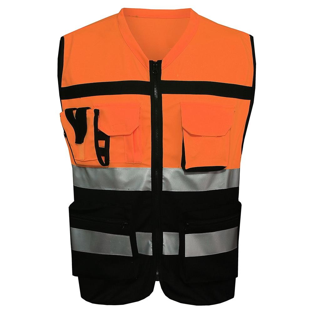 mnds red black reflective safety vest chaleco reflectante yellow safety vest reflective vest. Black Bedroom Furniture Sets. Home Design Ideas