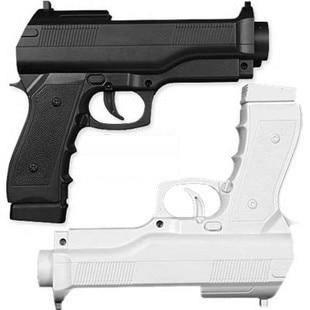 New high quality 2x Pistol Light Gun Shooting Games Gun Controller For Nintendo Wii Remote Controller Game Accessories