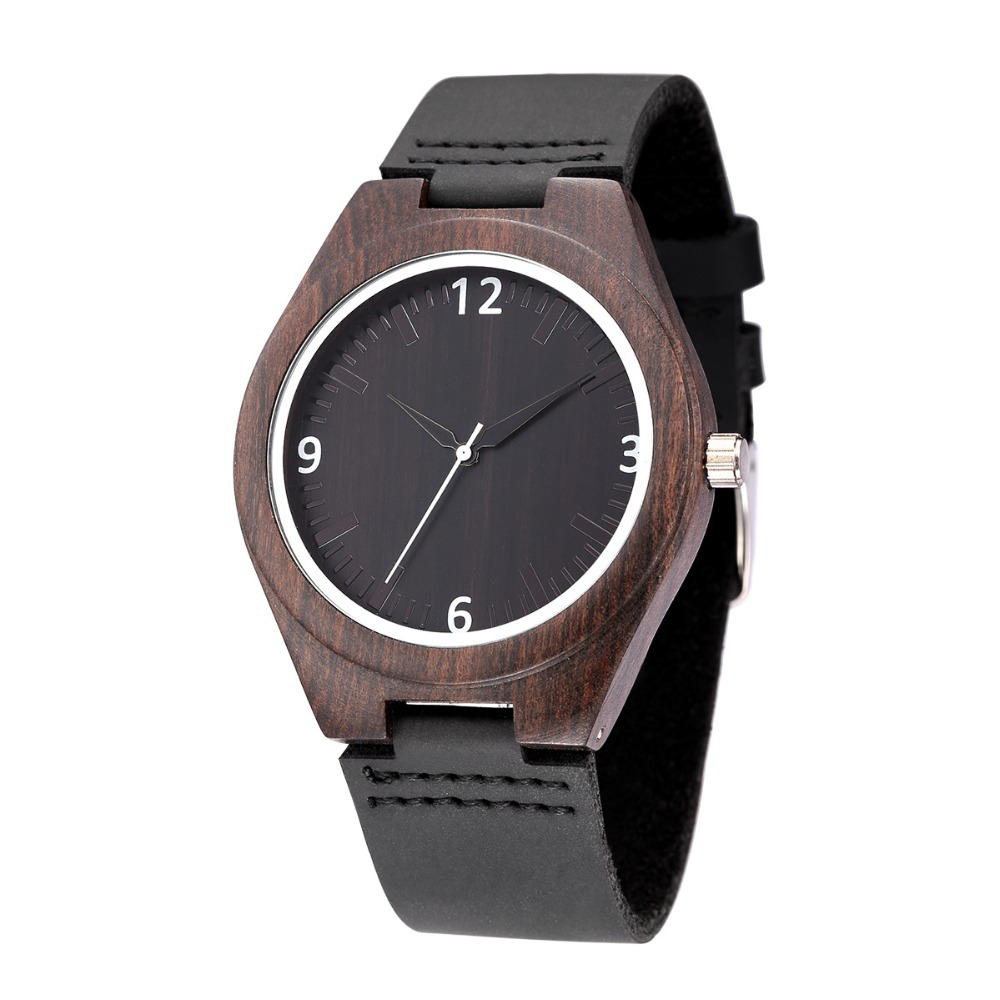WEISIKAI Fashion Wooden Design Mens Womens Watches Casual Simple Leather Quartz Watch Scale Black Dial Wood Luxury Wristwatches (14)