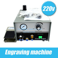 2014 hand engraving machine graver max set with 2 handpieces jewellery making machines Aliexpress wholesale price