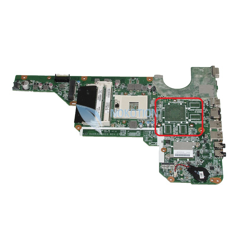 NOKOTION 680568-001 Laptop Motherboard For HP Pavilion G4 G6 G7-2000 G6-2000 G4-2000 Main board DA0R33MB6E0 works nokotion 683029 501 683029 001 main board for hp pavilion g7 2000 laptop motherboard ddr3 da0r53mb6e0