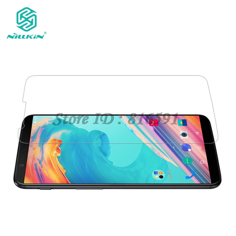 OnePlus 5T Glass Tempered Nillkin Amazing H 0.33MM Anti-Explosion One Plus OnePlus 5T Glass Film