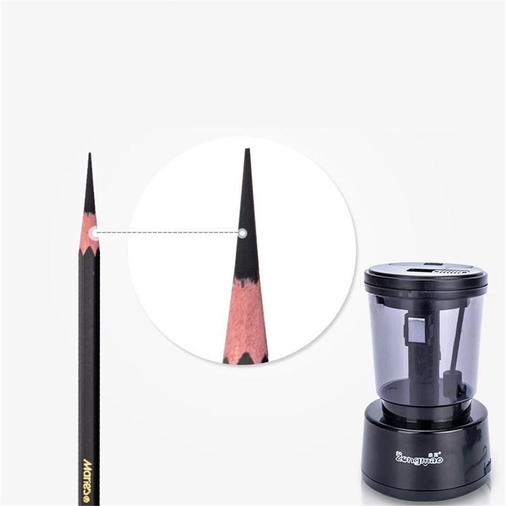 High Efficiency Portable Electronic Pencil Sharpener for Sketch writing Pencil Charcoal Art Dedicated Long Refill Stationery