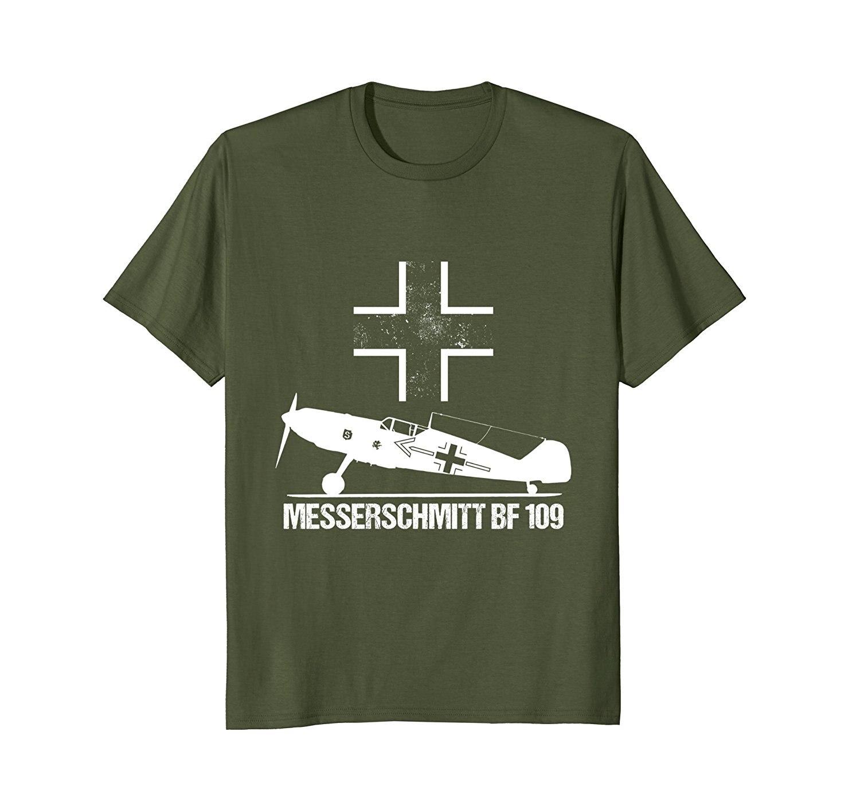 2019 Hot Sale 100% Cotton Messerschmitt BF 109 ME Warbird German Luftwaffe WW2 Shirt Summer Style Tee Shirt