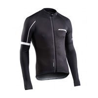 NW Men S Spring Autumn Cycling Jersey Black Long Sleeves Breathable MTB Riding Wear Ropa Maillot