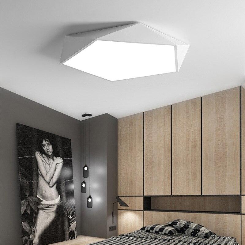 US $21.0 30% OFF|Kreative geometrische kunst led beleuchtung decken lampe  für wohnzimmer lampe studie korridor balkon Decke Beleuchtung-in ...
