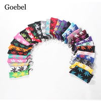 Goebel Popular Man Socks Individuality Maple Leaf Pattern Men Cotton Socks Comfortable Sweat Absorb Male Tube