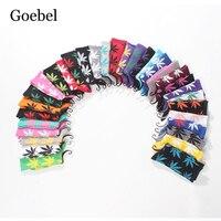 Goebel Popular Man Socks Individuality Maple Leaf Pattern Men Cotton Socks Comfortable Sweat Absorb Male Tube