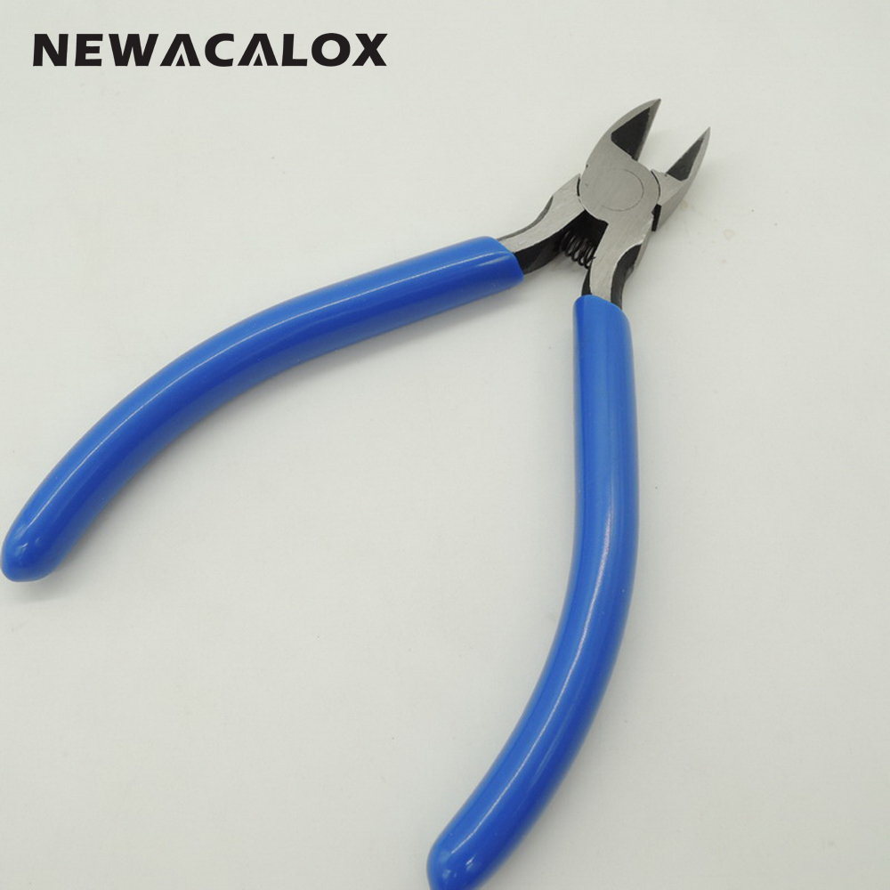 NEWACALOX DIY Câble Électrique Fil Décapant Cutters Coupe Côté - Outillage à main - Photo 4