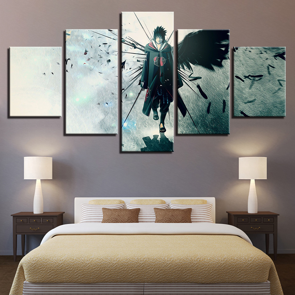 canvas poster home decor modular wall art framework 5. Black Bedroom Furniture Sets. Home Design Ideas