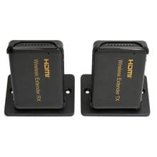 Premium High quality 98ft Wi-fi WIFI HDMI Extender Transmitter 30m 1080P HDMI Video Sender Receiver Help HDMI 1.four HDCP 1.four 3D