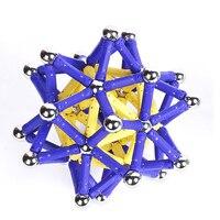 157 шт./103 шт./компл./набор креативные магнитные Конструкторы детский интеллект игрушки развивающие игрушки магнитная палочка любимый Подарочный блок игрушка