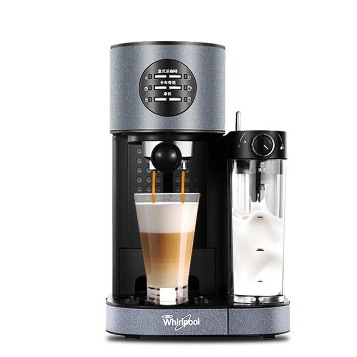 2018 Household Automatic Coffee Machine Pump Pressure Type Italian Beat Milk Foam Coffee Maker Free Shipping