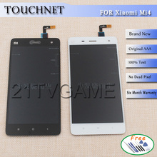 100% New Repair Parts For Xiaomi MI 4 LCD Display and Touch Screen Digitizer Replacement Smart Phone  Assembly
