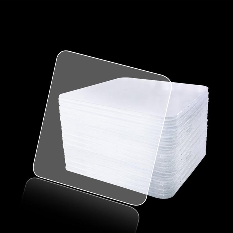 10 шт прозрачный двусторонний скотч бытовой гобелены клей ленты