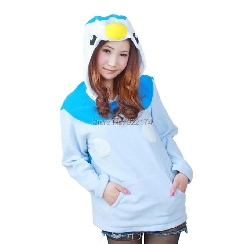 2018 Hot Sale Pinguin Hoodie Cosplay Costume Animal -8721