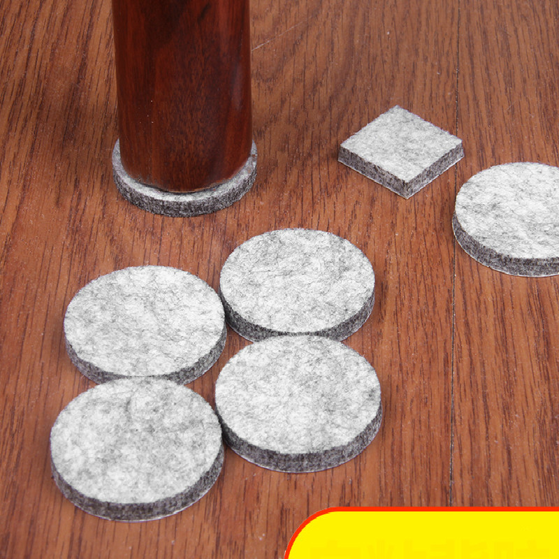 Chair Table Mat Foot Cover Floor Furniture Sofa Table Chair Leg Protection Pad Self-adhesive Pads  Non-Slip Mute  Wear-resistant