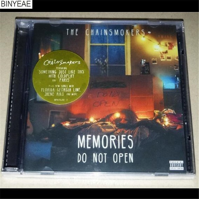 binyeae new cd seal the chainsmokers memories do not open cd disc