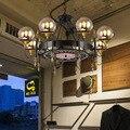 SGROW промышленные ретро ностальгические Волшебные Bean подвесные светильники для гостиной столовой висящая Лампара железные осветительные п...