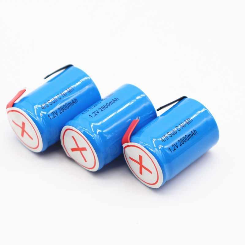 Новая аккумуляторная батарея для Dewalt для Makita для Bosch для экскаватора Hitachi 4/5SUBC мА/ч. аккумулятор-гидридных и никель-кадмиевых типов аккумуляторов аккумулятор 2800mah 1,2 v