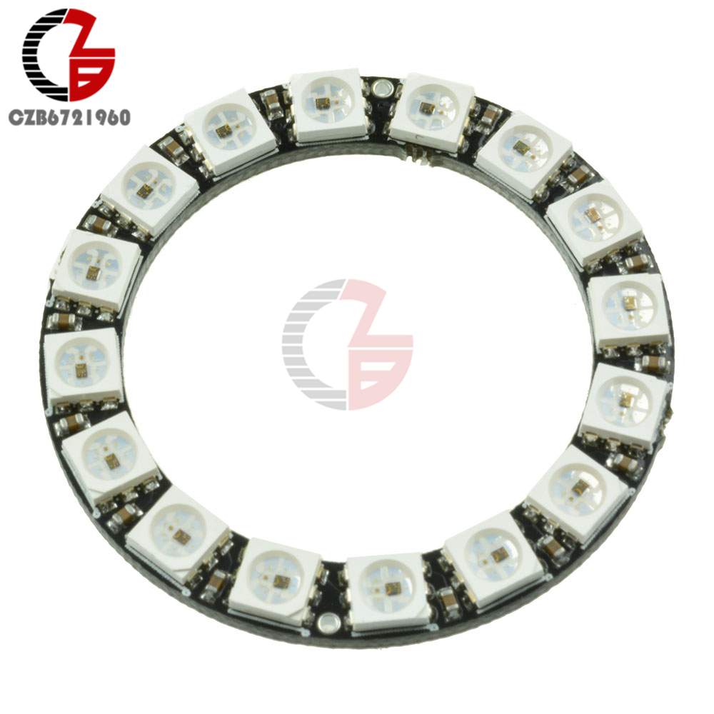 Consumer Electronics Integrated Drivers Warm And Windproof 1pcs Rgb Led Ring 16bit Ws2812 5050 Rgb Led