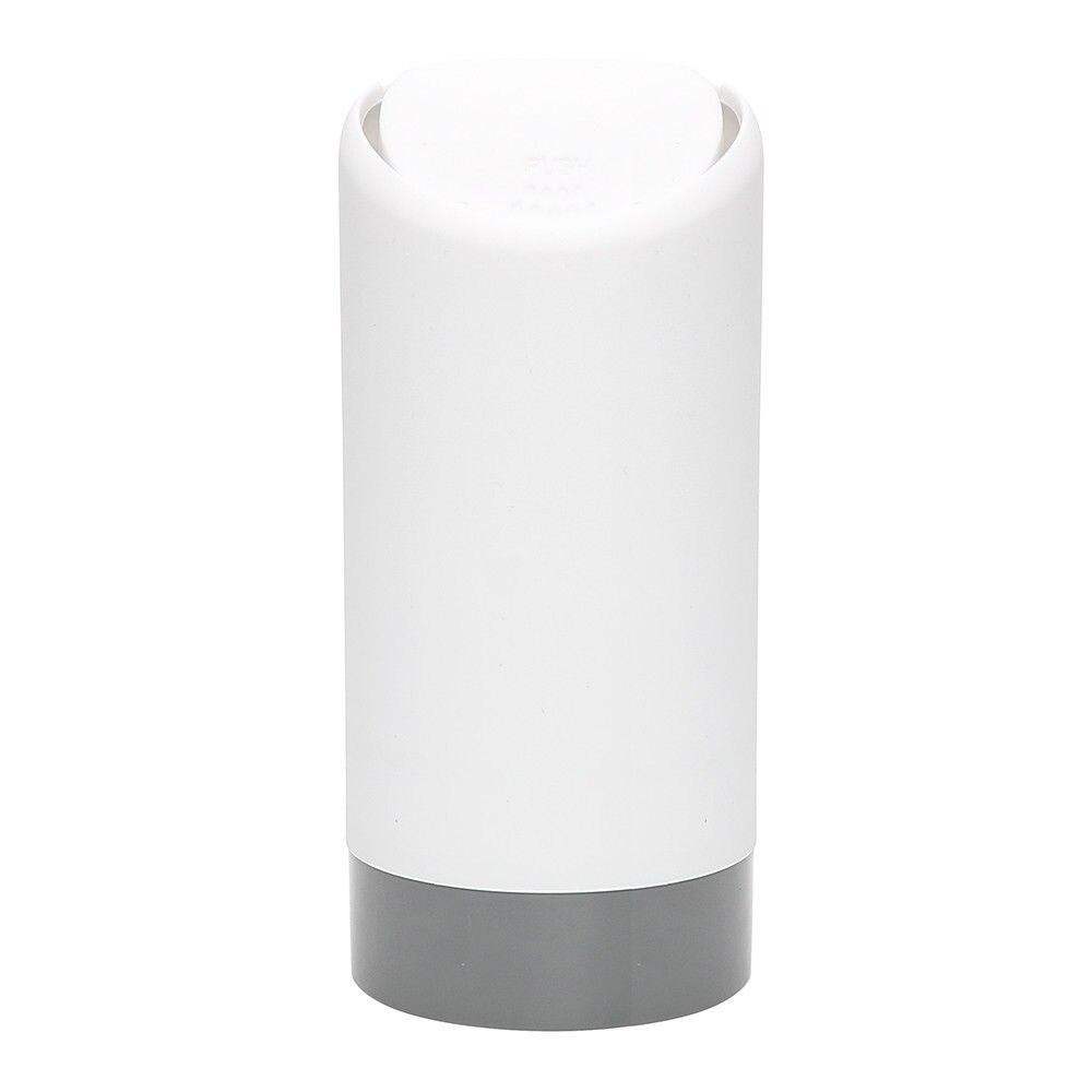 Автомобильный Органайзер силиконовый авто мусорное ведро контейнер Футляр для мусора мини прочные маркеры мусорное ведро - Название цвета: Белый