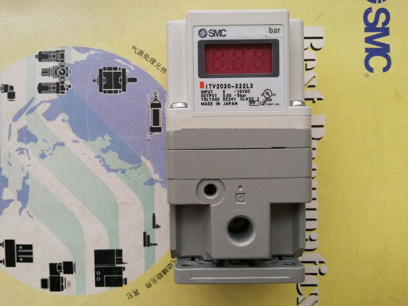 BRAND NEW JAPAN SMC GENUINE E / P REGULATOR ITV2030-322L3 brand new japan smc genuine regulator arx20 02