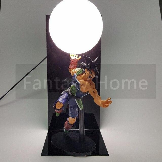Dragon Ball Z Figura Bardana Genki damaSpirit Bomba PVC Figure Dragonball Z DIY Juguete Modelo de Presentación Esferas Del Dragón + bola + Base