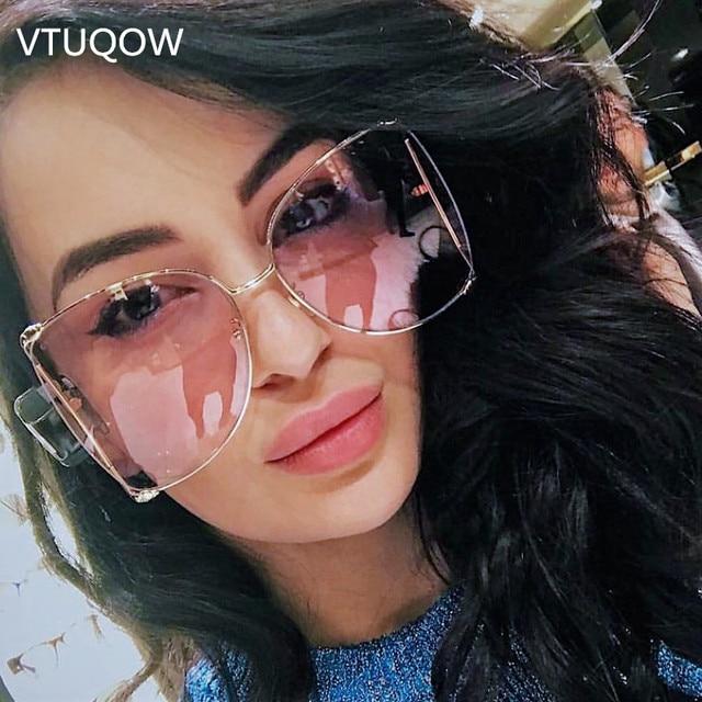 155fbf3d28 2019 Luxury Square Sunglasses Women Brand Designer Vintage Elegant Pearl Sun  Glasses For Female Lady Sunglass Gafas Oculos UV400