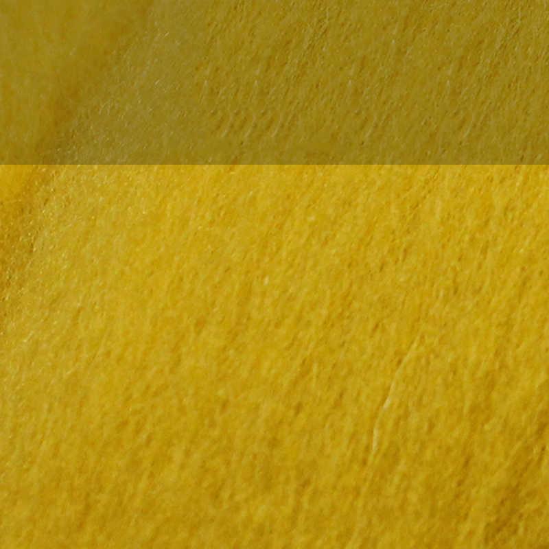 MoTiRo, 1 couleur/ensemble, feutre de laine fourré de couleur unie, motif système jaune, feutre de laine Non fini pour bricolage/couture/feutrage/fait main
