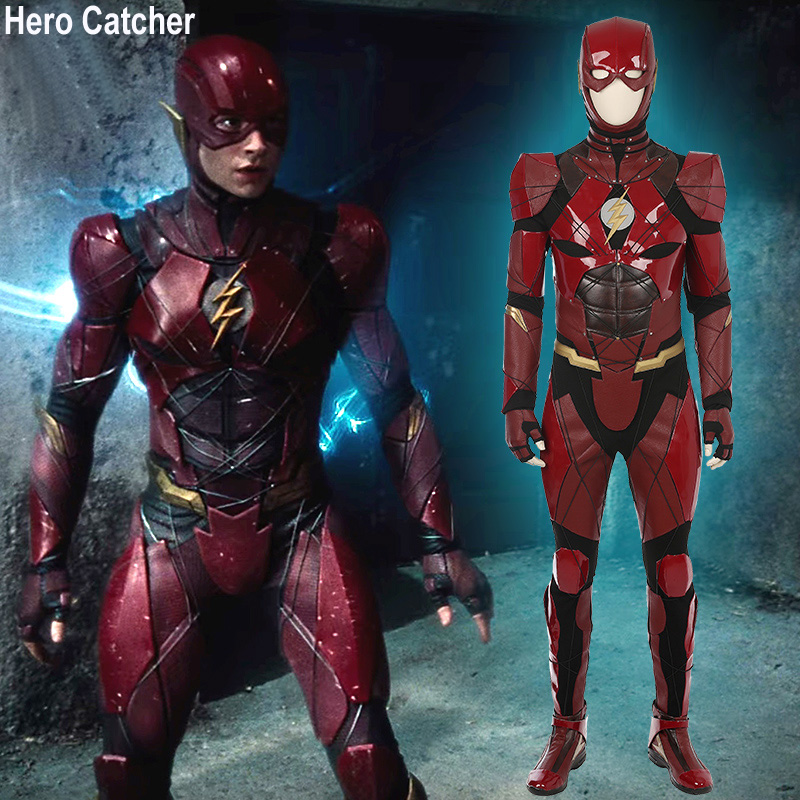 Hero Catcher High Quality Red Flash Costume Justice League