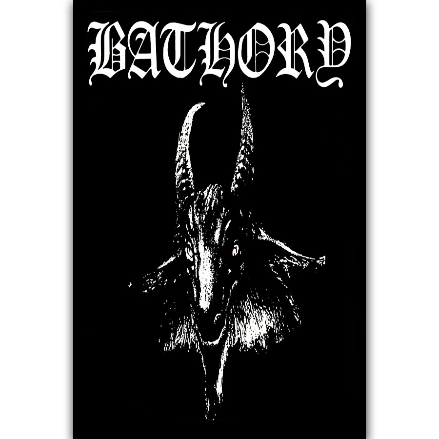 Rock Music Cover Us 5 48 7 Off Mq2881 New Bathory Custom Metal Rock Music Band Vintage Cover Hot Art Poster Top Silk Canvas Home Decor Picture Wall Printings In