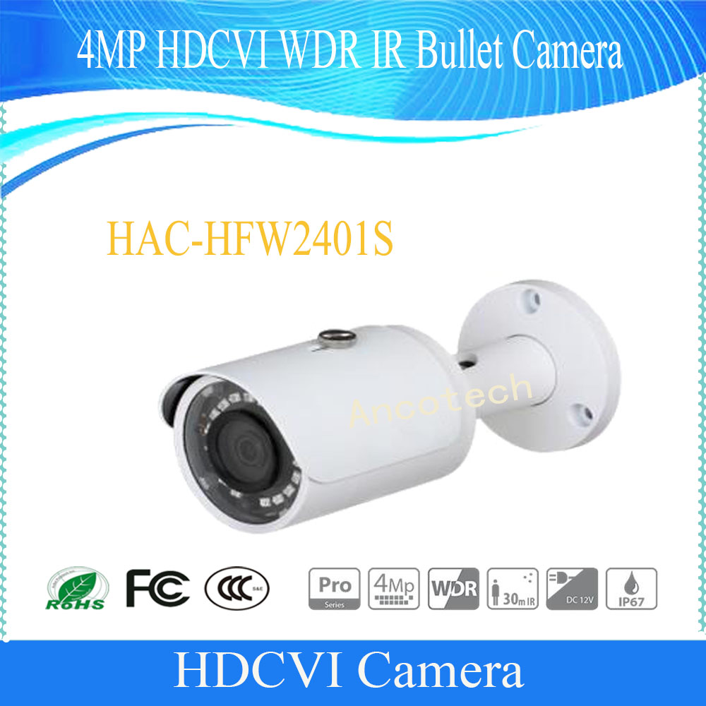 Free Shipping NEW Product CCTV DAHUA 4MP FULL HD HDCVI WDR IR Bullet Camera IP67 DH-HAC-HFW2401SFree Shipping NEW Product CCTV DAHUA 4MP FULL HD HDCVI WDR IR Bullet Camera IP67 DH-HAC-HFW2401S