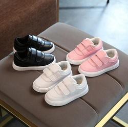 2019 sapatos casuais botas de couro criança do sexo feminino masculino sapatos de sola macia do bebê sapatos de desporto criança crianças sapatos de marca crianças sneakers