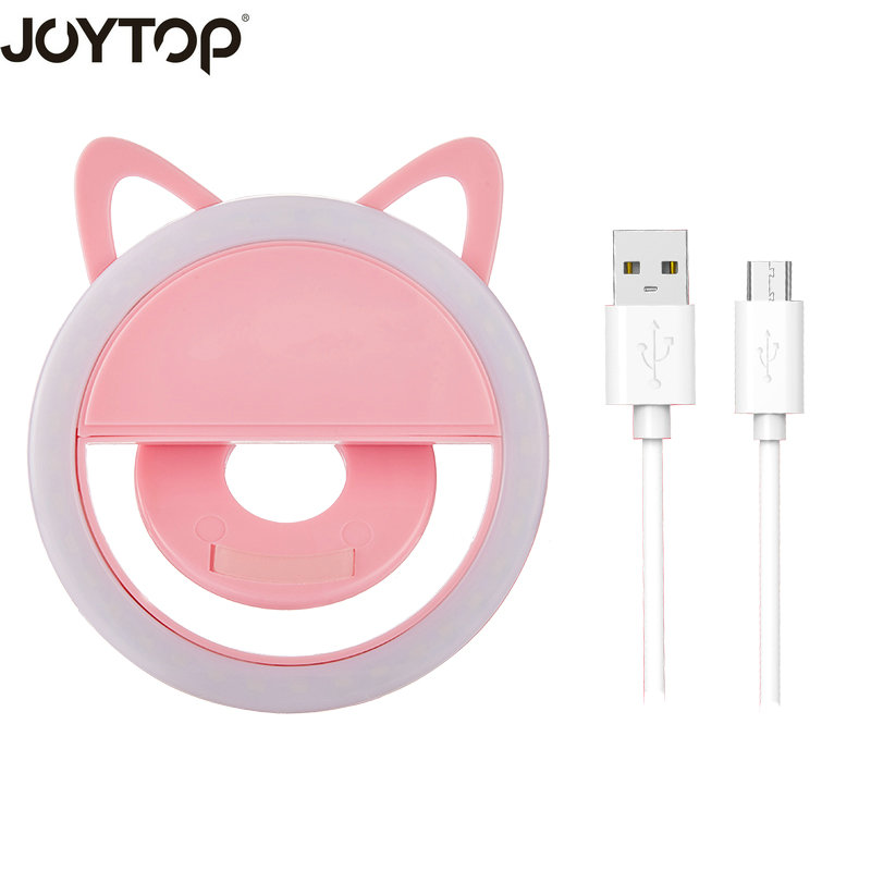 JOYTOP USB charge Selfie Ring Light Portable Flash Led Camera Phone Enhancing Photography for iPhone smartphones selfie lightJOYTOP USB charge Selfie Ring Light Portable Flash Led Camera Phone Enhancing Photography for iPhone smartphones selfie light