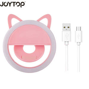 selfie light for iPhone smartphones USB charge Selfie Ring Light Portable Flash Led